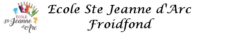 Ecole Ste Jeanne d'Arc Froidfond